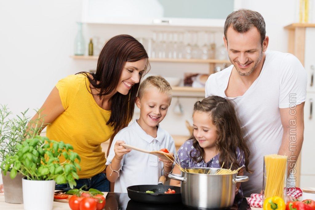 Готовить дома —укрепление и гармонизация отношений в семье