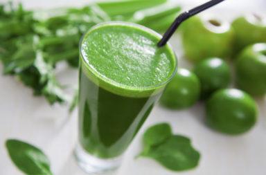 Полезные зеленые коктейли