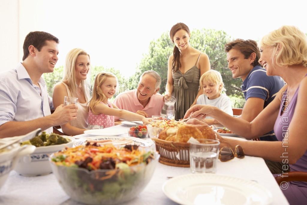 Питание без глютена — радость для семьи