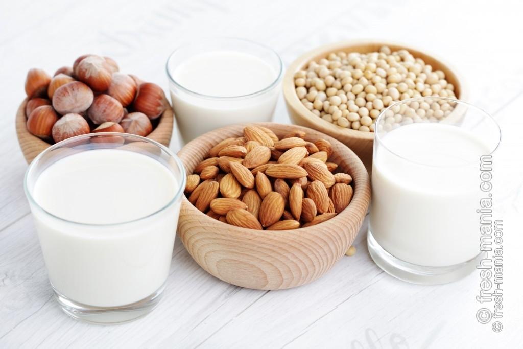 Продукты из растительного молока