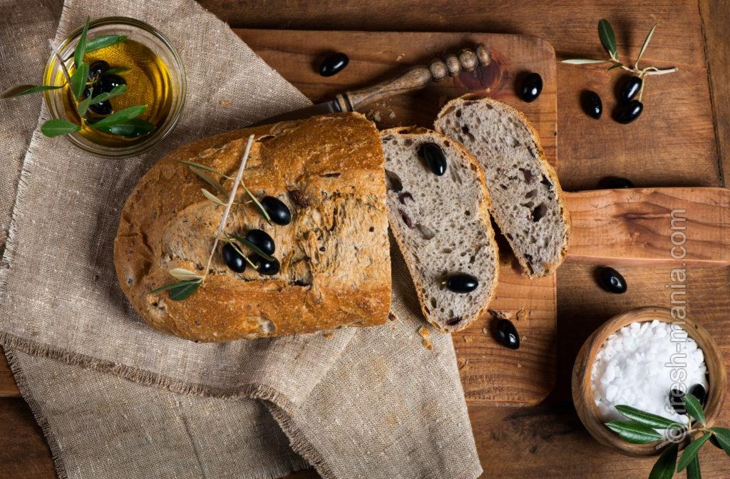 Хлеб из цельнозерновой муки грубого помола
