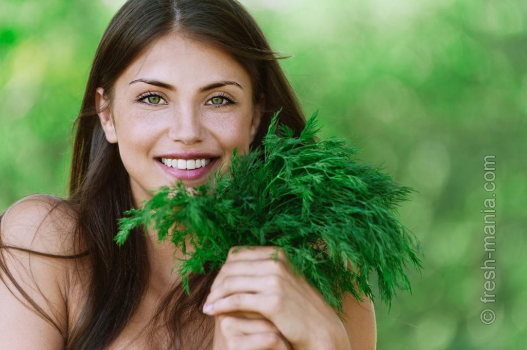 Зеленая еда – здоровая красота