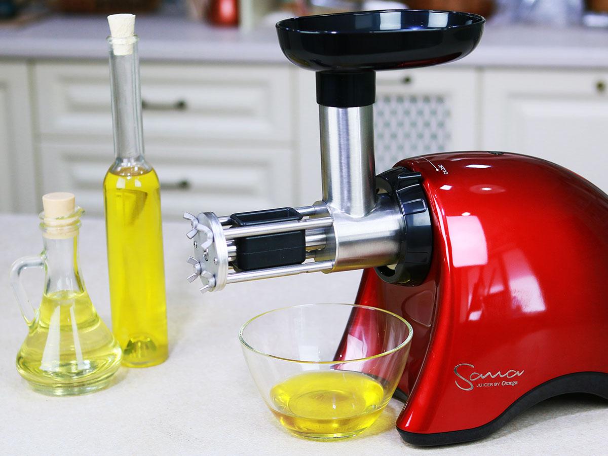 Маслопресс Sana Oil Extractor — особенности использования