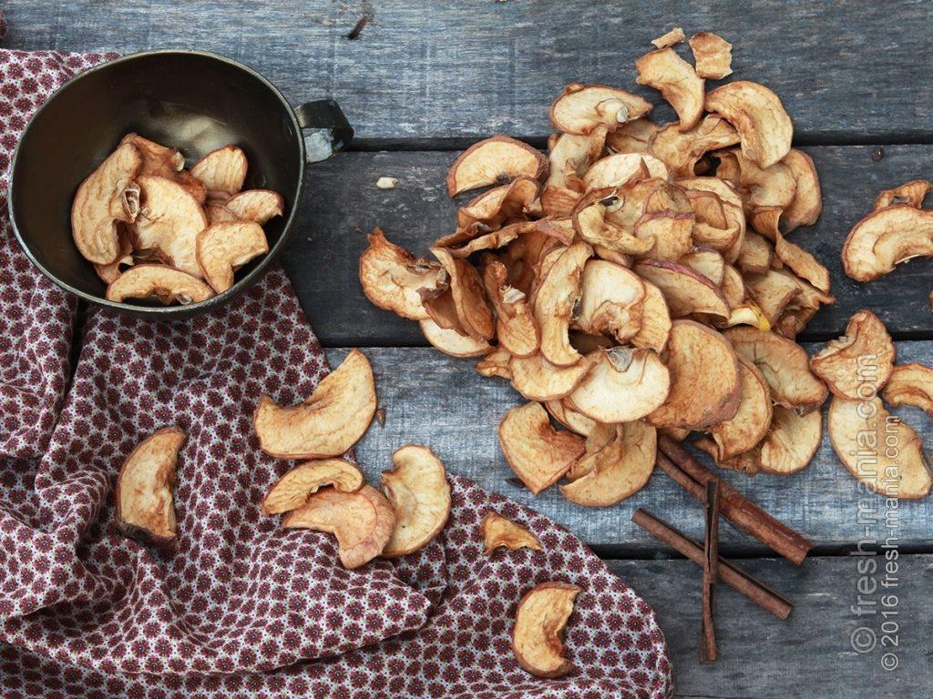 Сушеные яблоки – источник внутреннего и внешнего здоровья