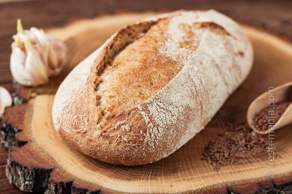 Хлеб на закваске лишен недостатков дрожжевого хлеба