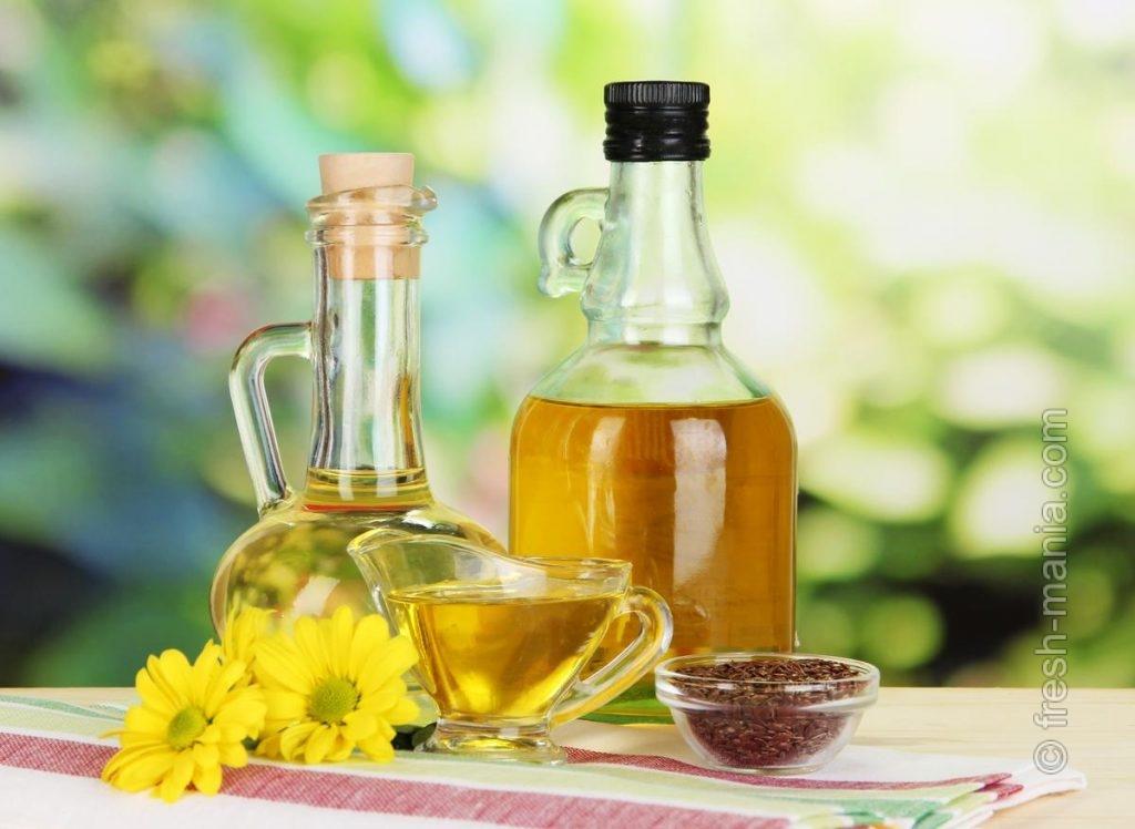 Масло льна оказывает положительное влияние на пищеварение