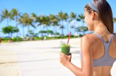 Зеленые коктейли для похудения