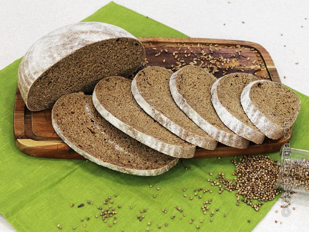 Как правильно приготовить подовый хлеб на закваске