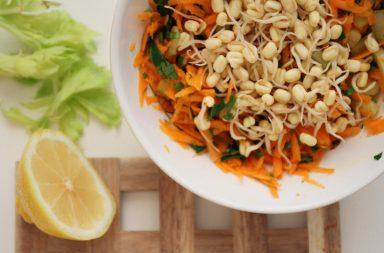 Пророщенные бобы: рецепты салатов