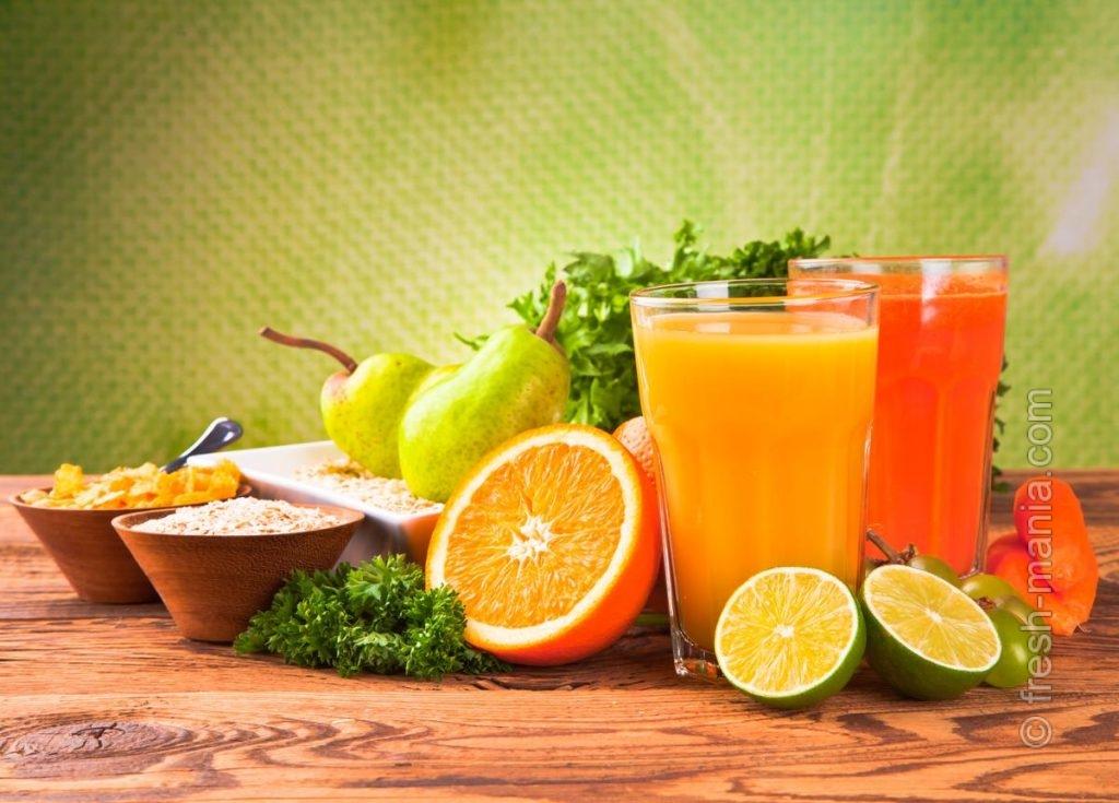Замените алкогольный коктейль свежевыжатым соком