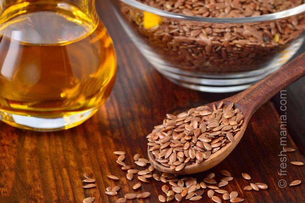 Семена льна помогают похудеть и укрепить иммунитет