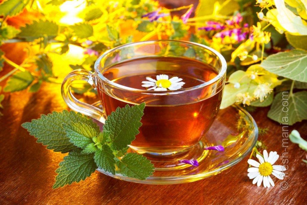 Чай из ромашки для укрепления иммунитета