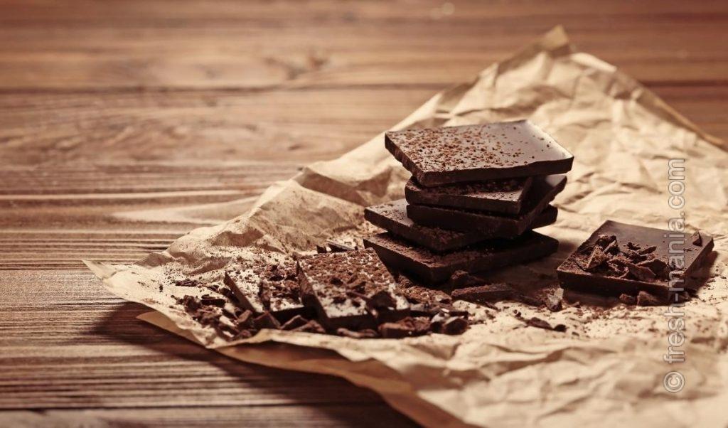 Темный шоколад – гастрономическое и мозговое удовольствие