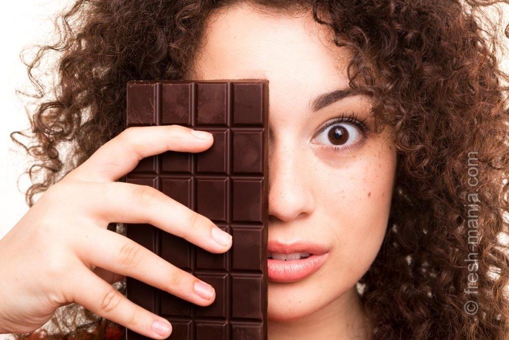 Темный шоколад восполнит недостаток магния