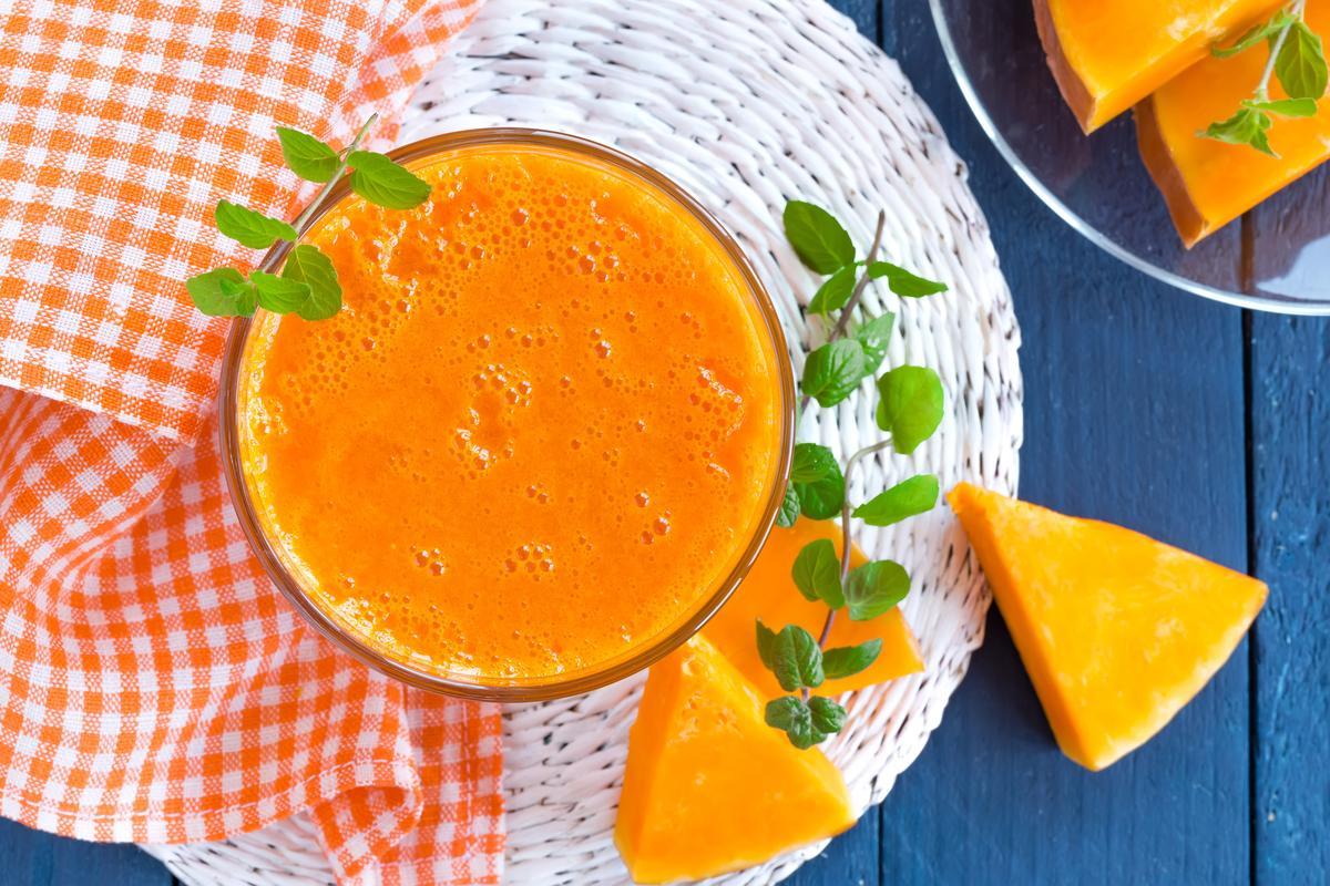 Дары осени: тыквенный сок