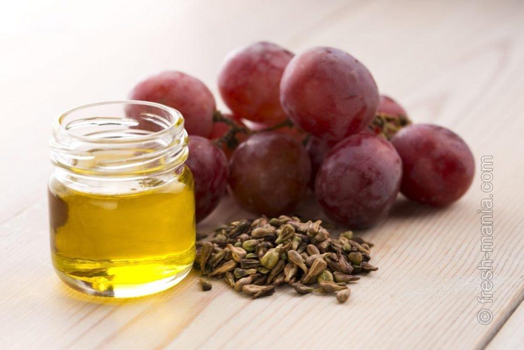 Масло из косточек винограда — для женской красоты