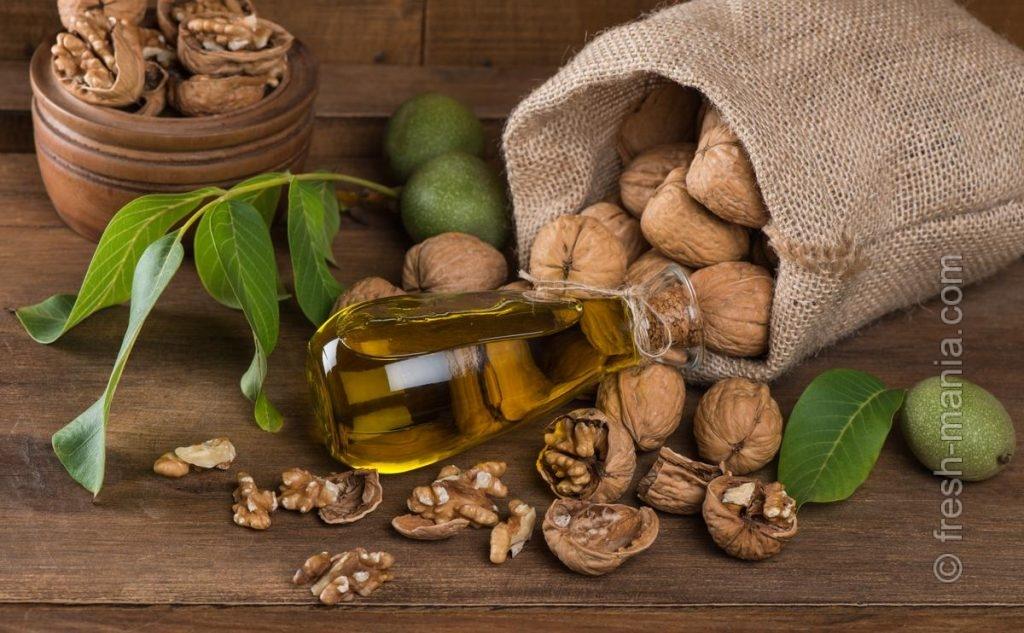 Масло из грецких орехов — №1 для осенне-зимнего периода