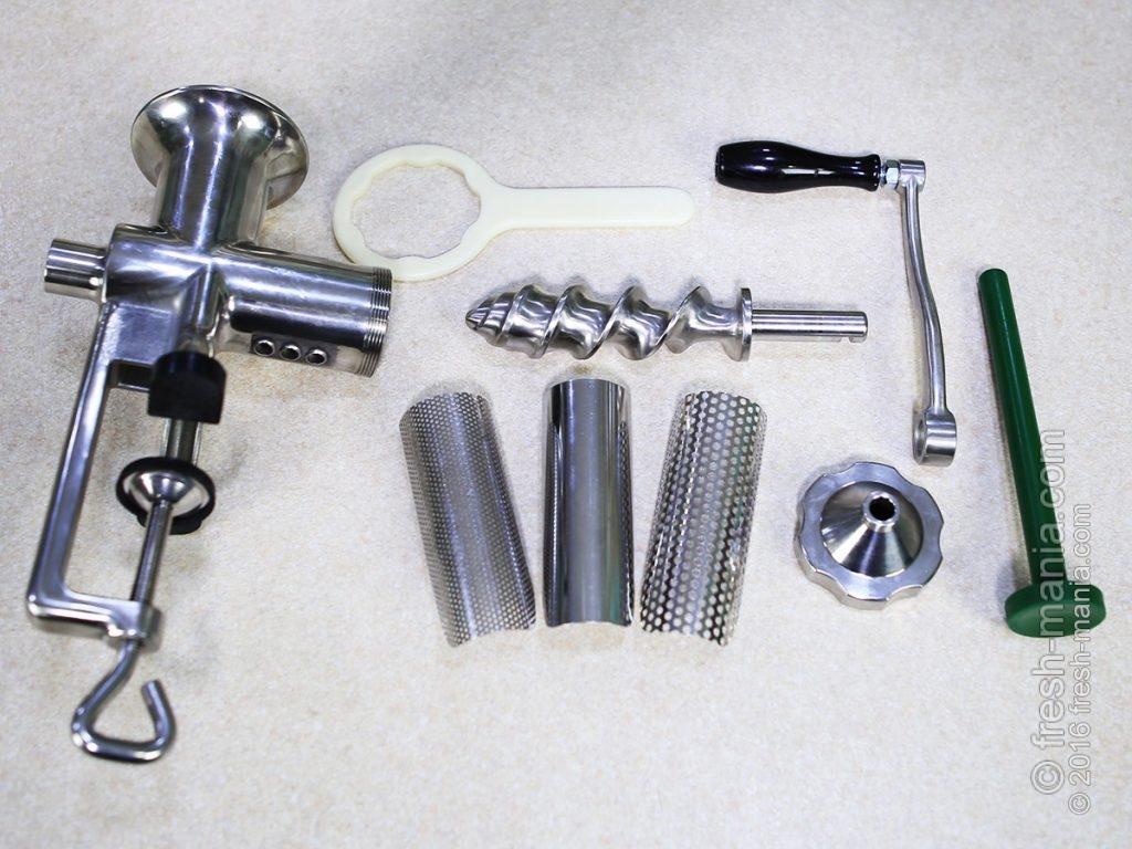 Комплектация соковыжималки Manual Juicer BL-30