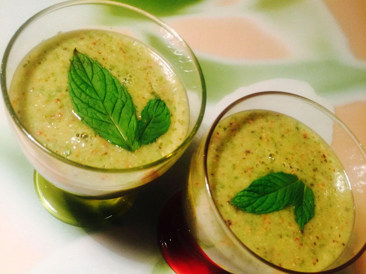 Смузи зеленый витаминный