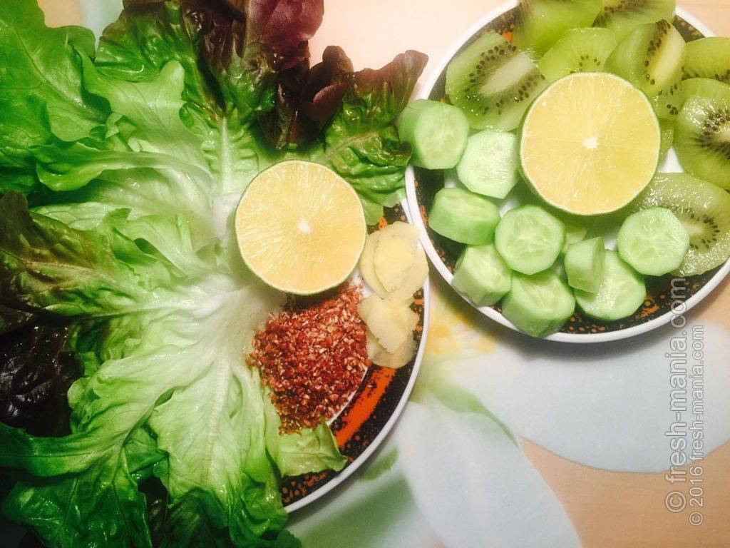 Две тарелки продуктов поместятся в одном стаканчике смузи