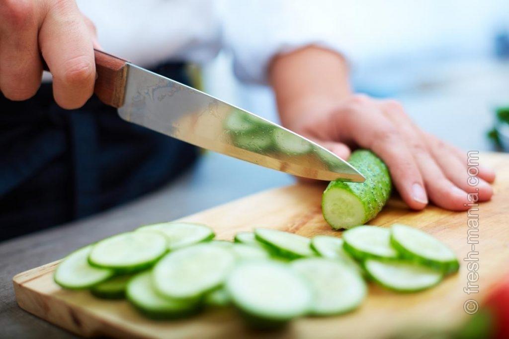 Острые ножи – довольная хозяйка