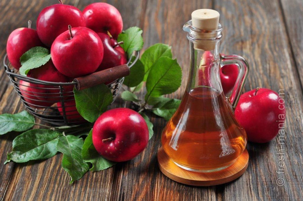 Яблочный уксус превосходен для наружного применения