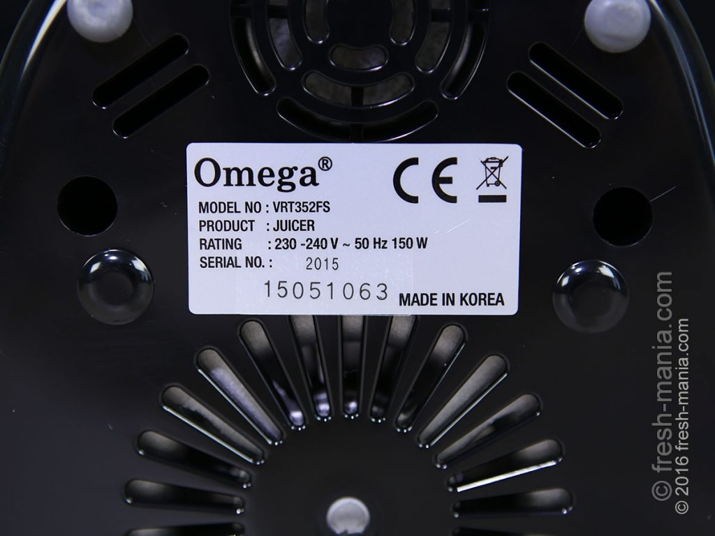 Характеристики двигателя Omega 352F