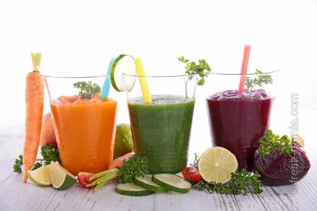 Овощные соки восстанавливают здоровье