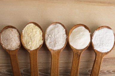 Выпечка бездрожжевого хлеба из разной муки