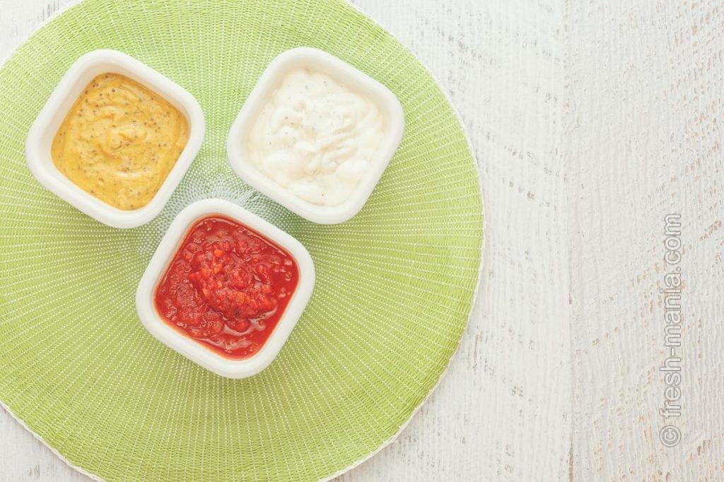 Вегетарианские соусы для здоровых посиделок