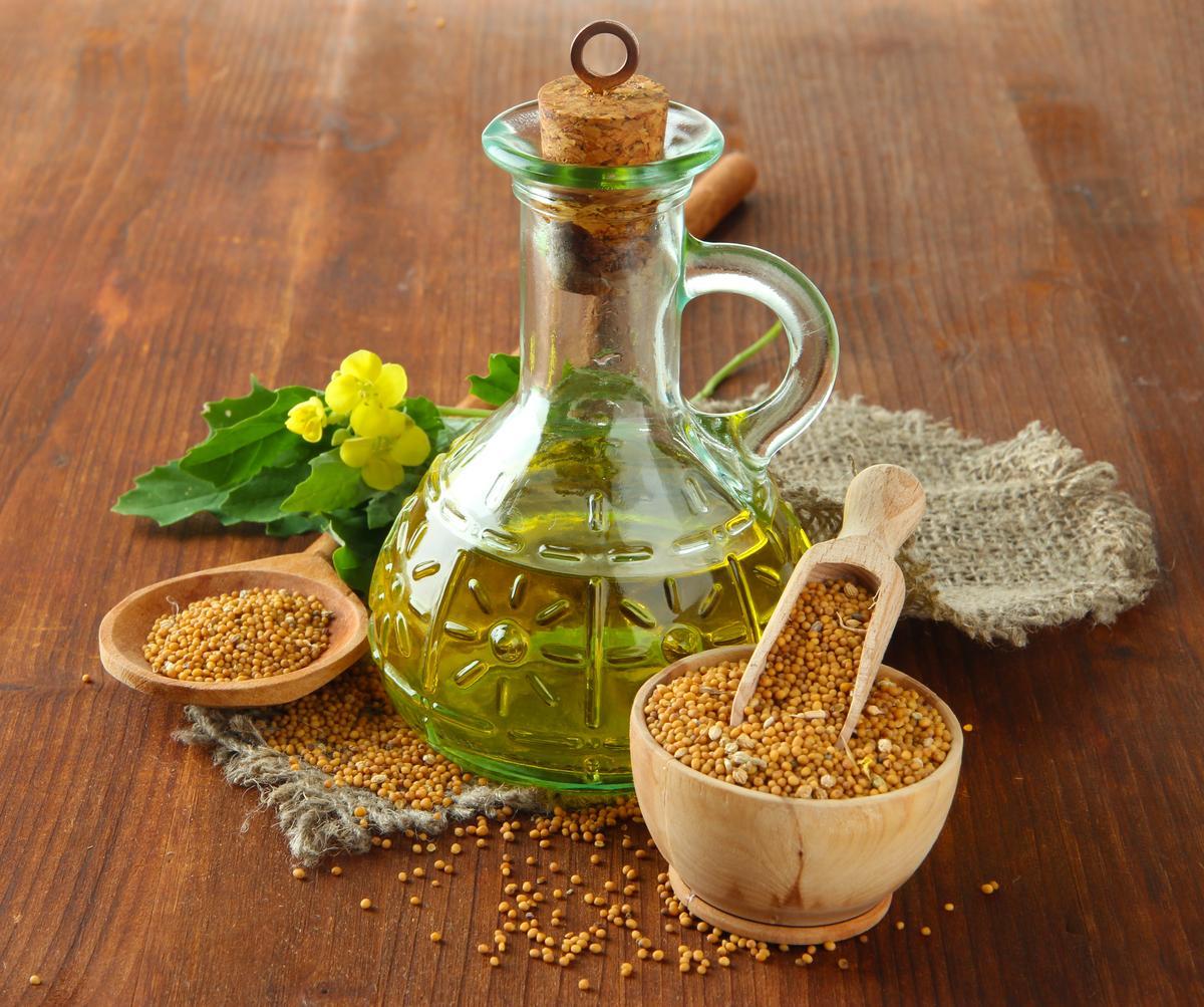 Чем полезно горчичное масло: сферы применения