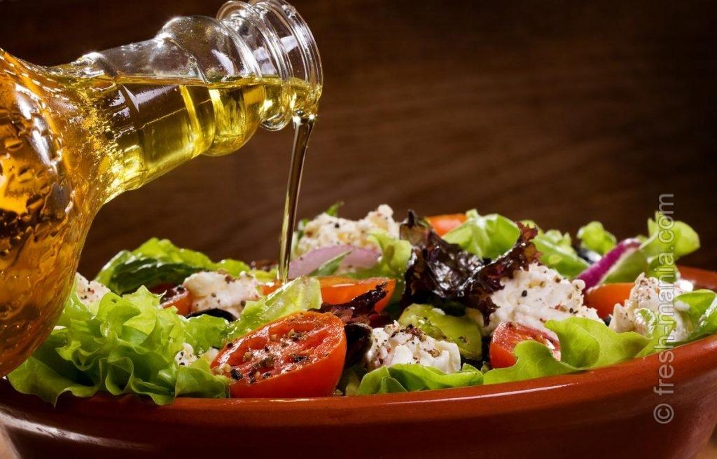 Овощи и сыродавленное масло созданы друг для друга