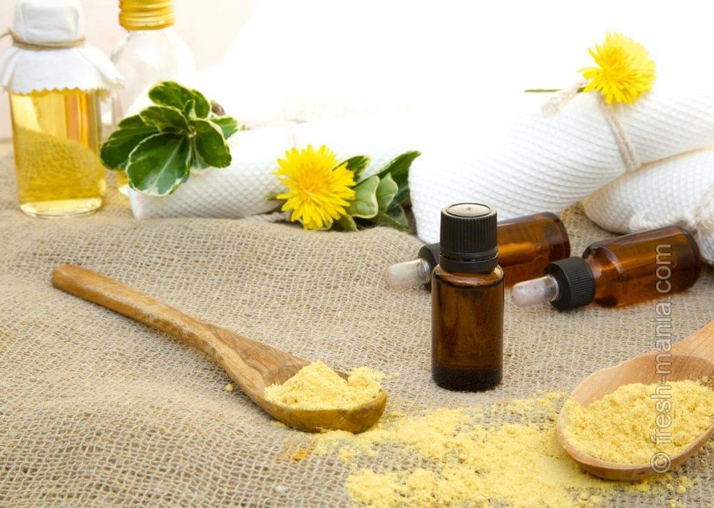 Бутылочка горчичного масла пригодится и в ванной
