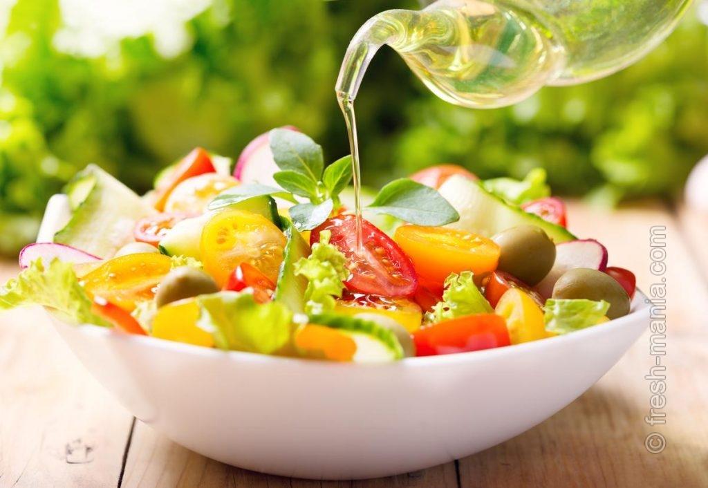 Умножаем салатную пользу сыродавленным маслом