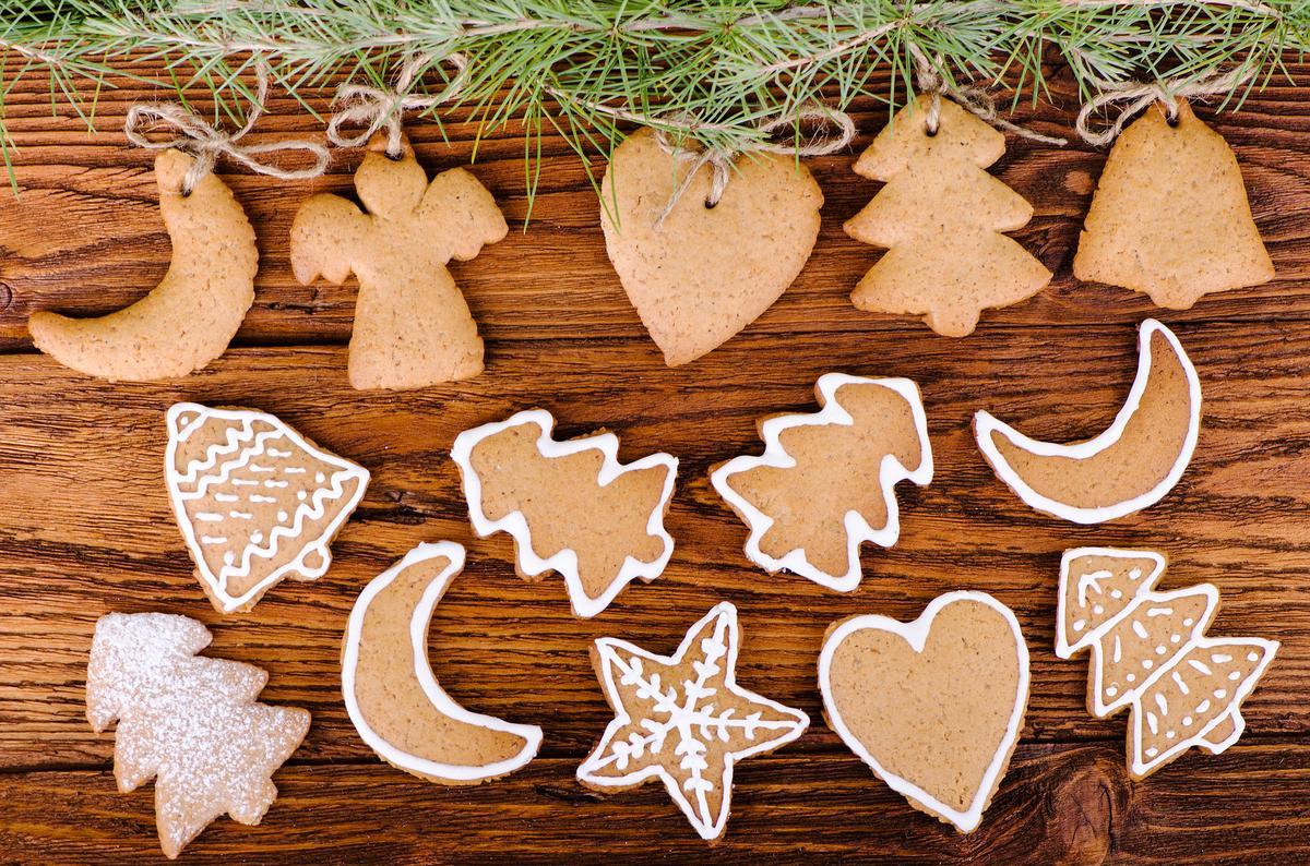 Полезное печенье к новогоднему столу