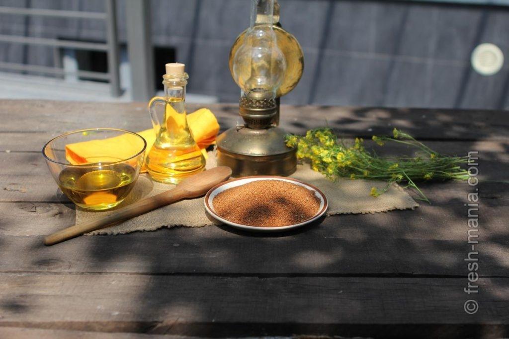 Рыжиковое масло – употребляйте внутрь и извне