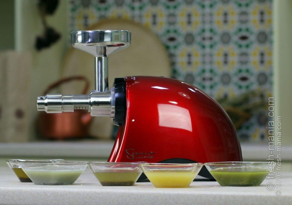 Свежеприготовленные масла холодного отжима