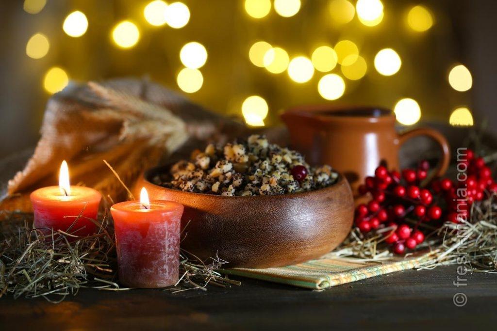 Узвар и кутья – главные блюда рождественских вечерь