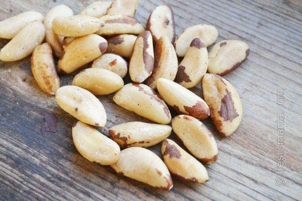 Бразильские орехи выводят из организма тяжелые металлы