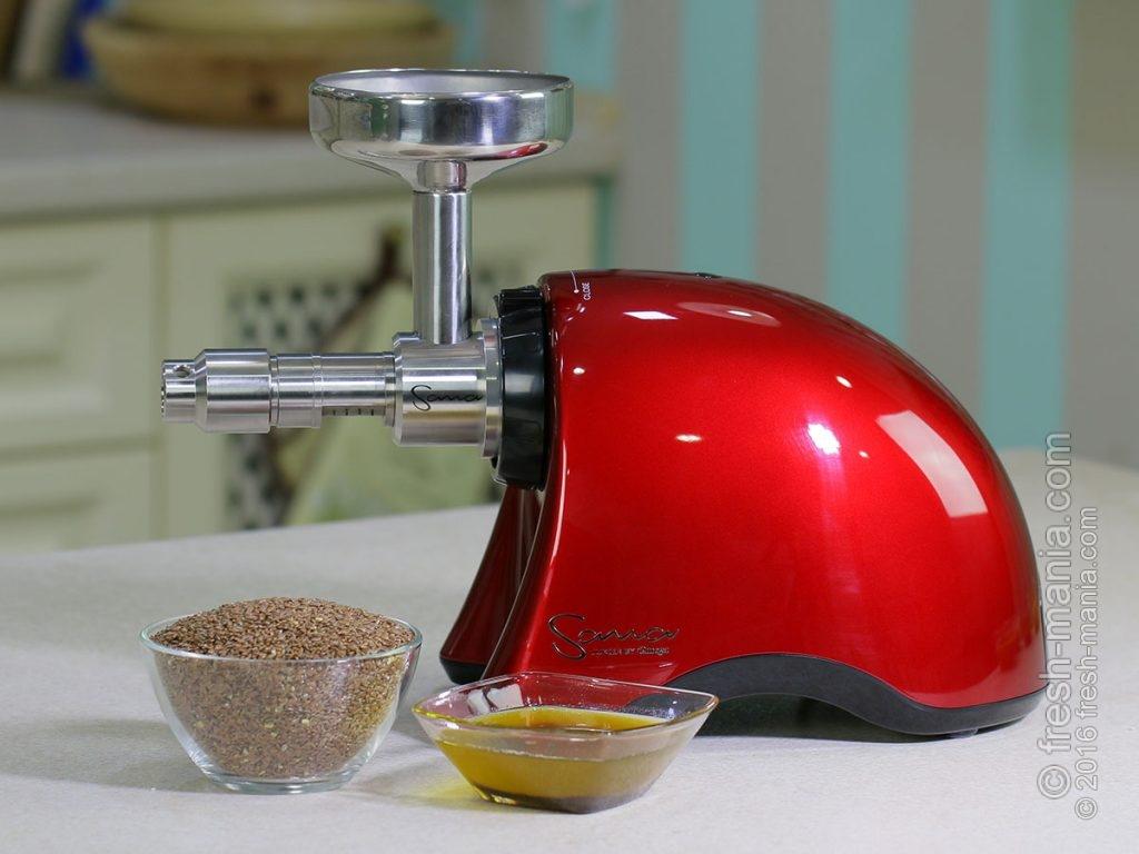 Для льняного масла лучше использовать лен-кудряш