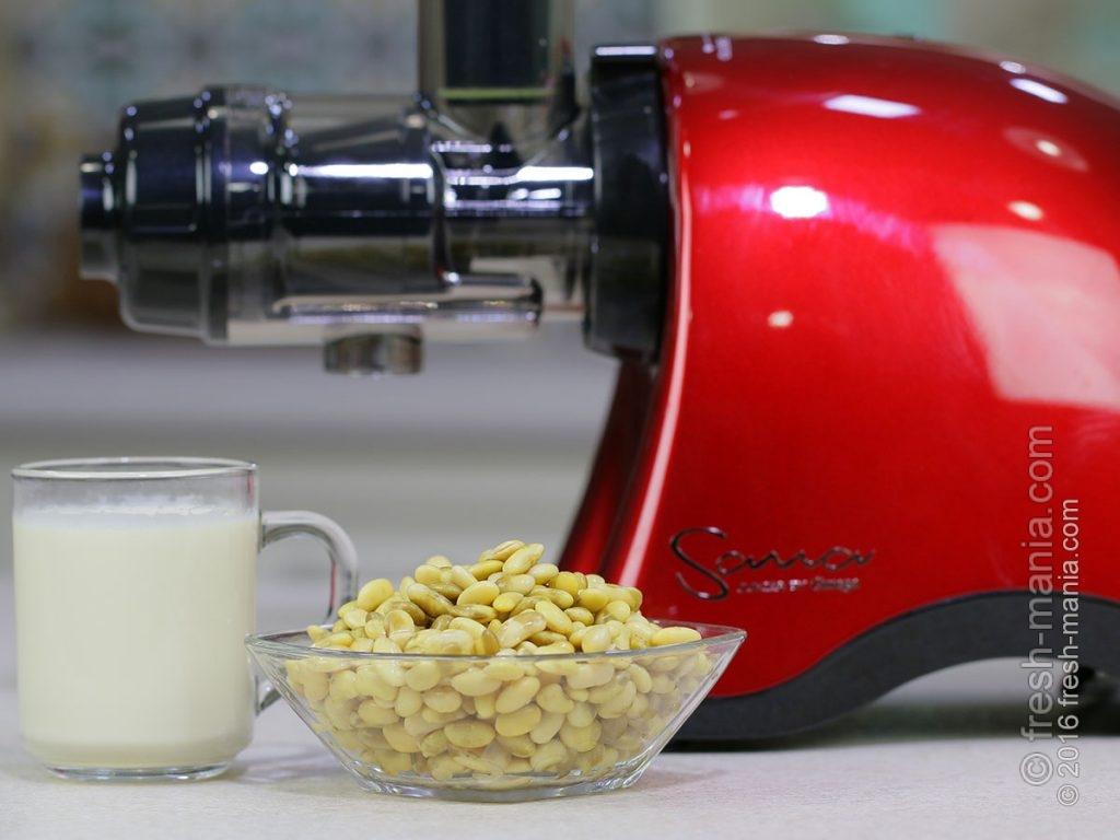 Соевое молоко на Sana 707