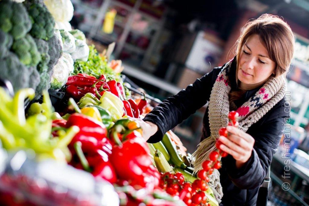 Зимой фруктово-овощной рацион оскудевает, но не исчезает