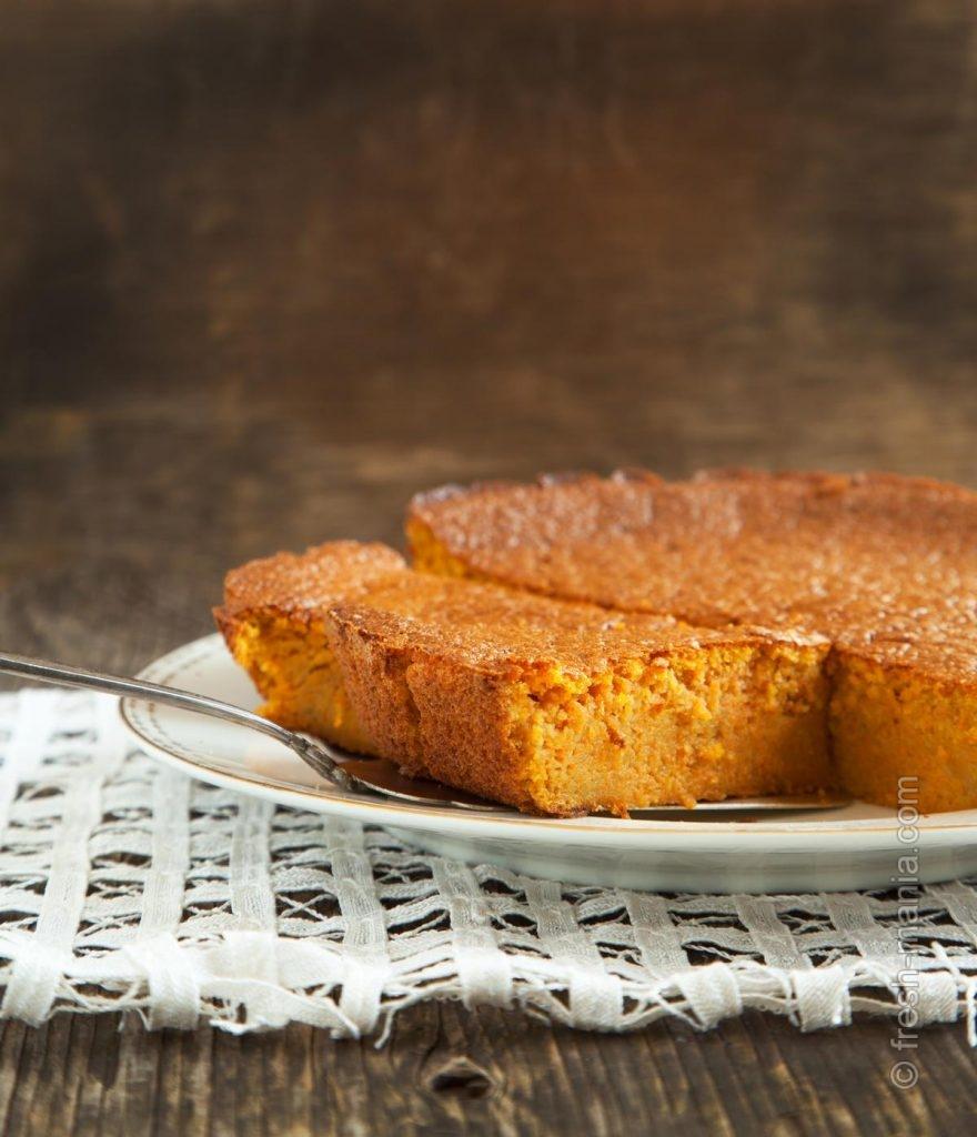 Морковный пирог любят не только вегетарианцы