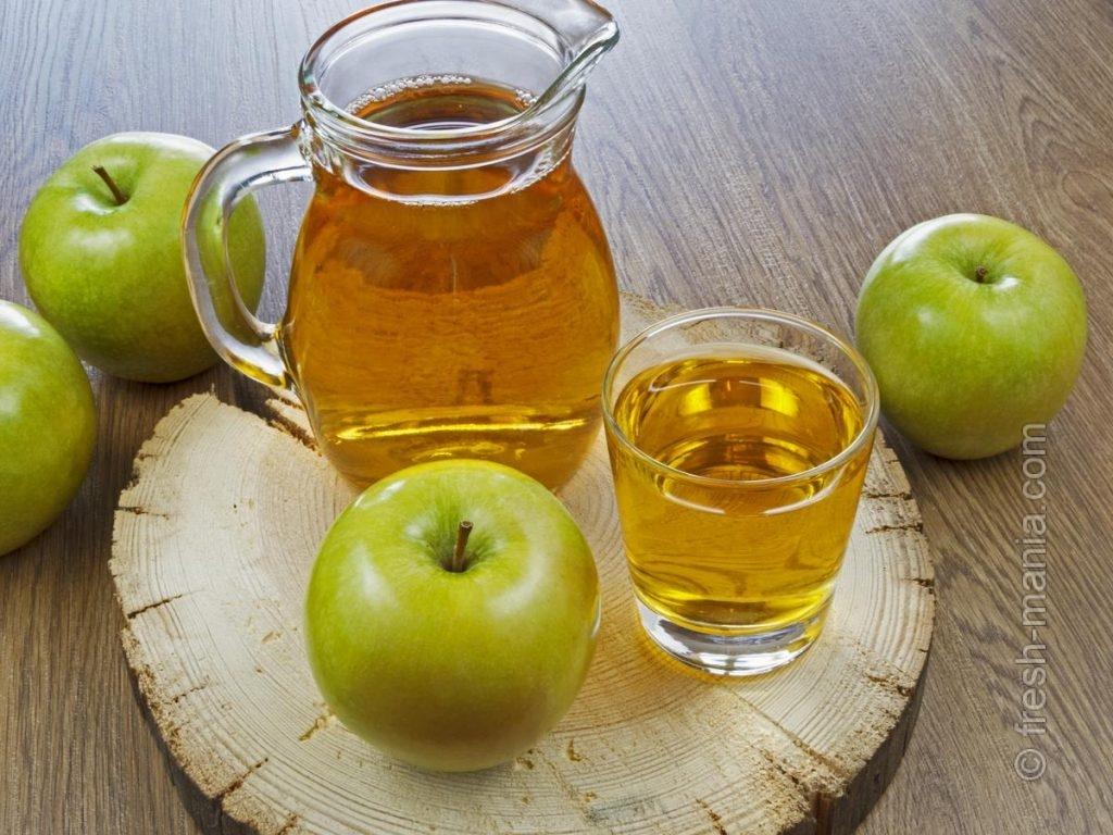 Зимние яблоки в виде фреша — быстрый способ витаминизировать организм