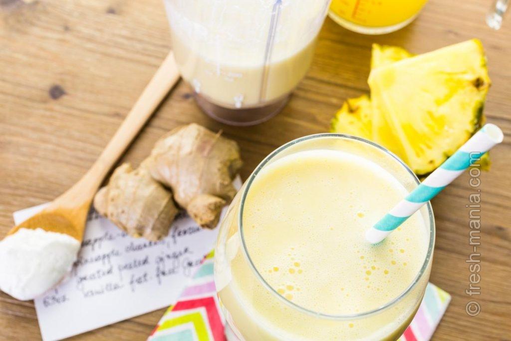 Бромелайн и витамин C – суперсила ананаса