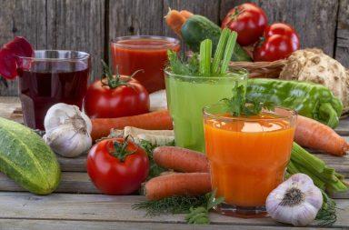 Нестандартные овощные соки