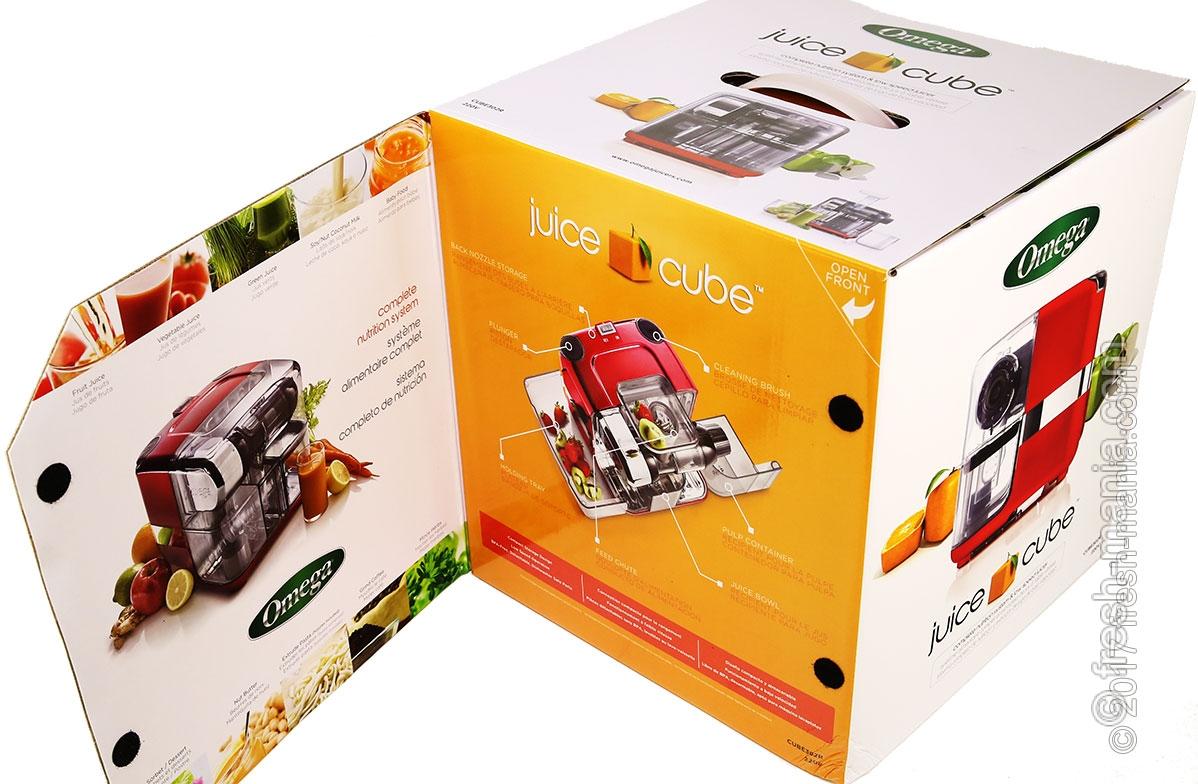 Упаковка Omega Cube Juicer