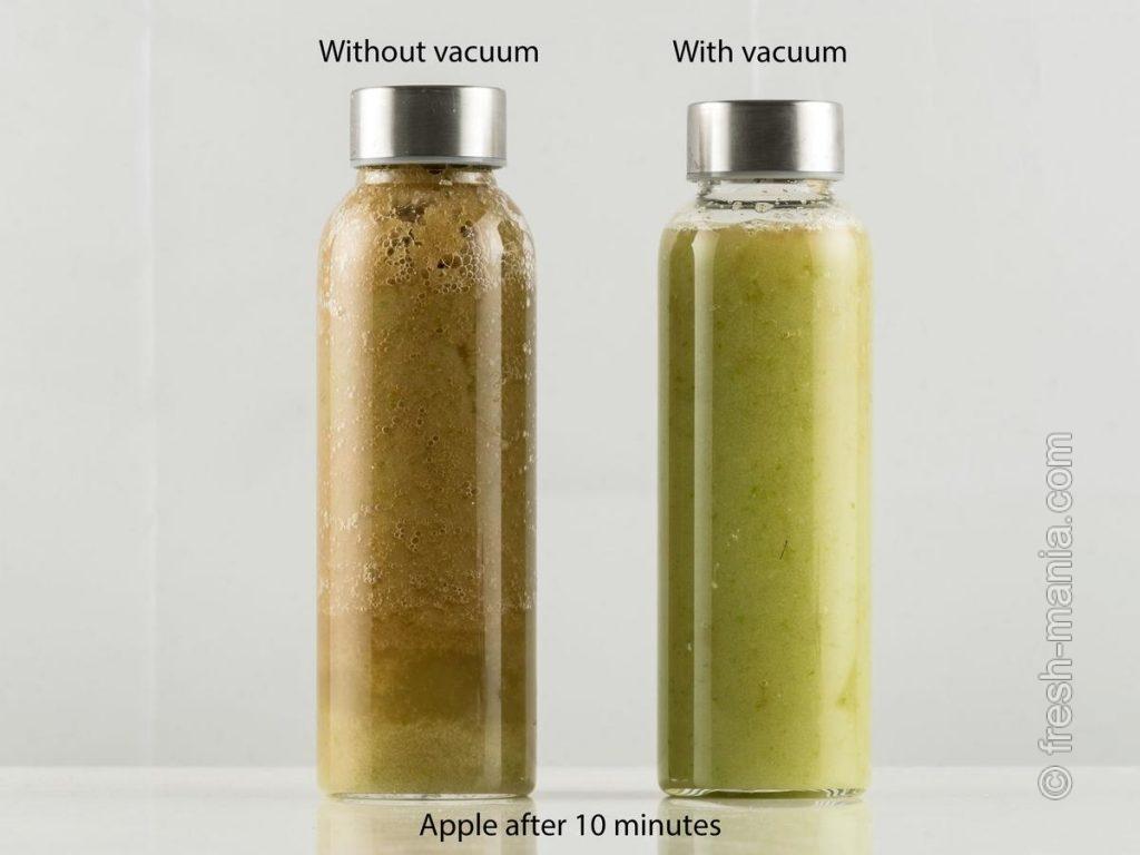 Яблоки – 10 минут после приготовления