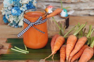 Морковный сок по правилам