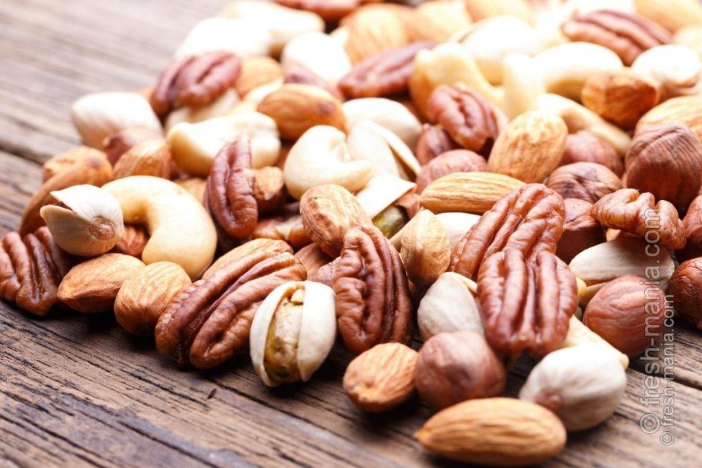 Включите орехи в ежедневный рацион